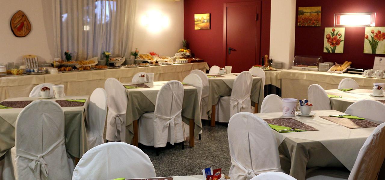 ristorante hotel Romano Canavese