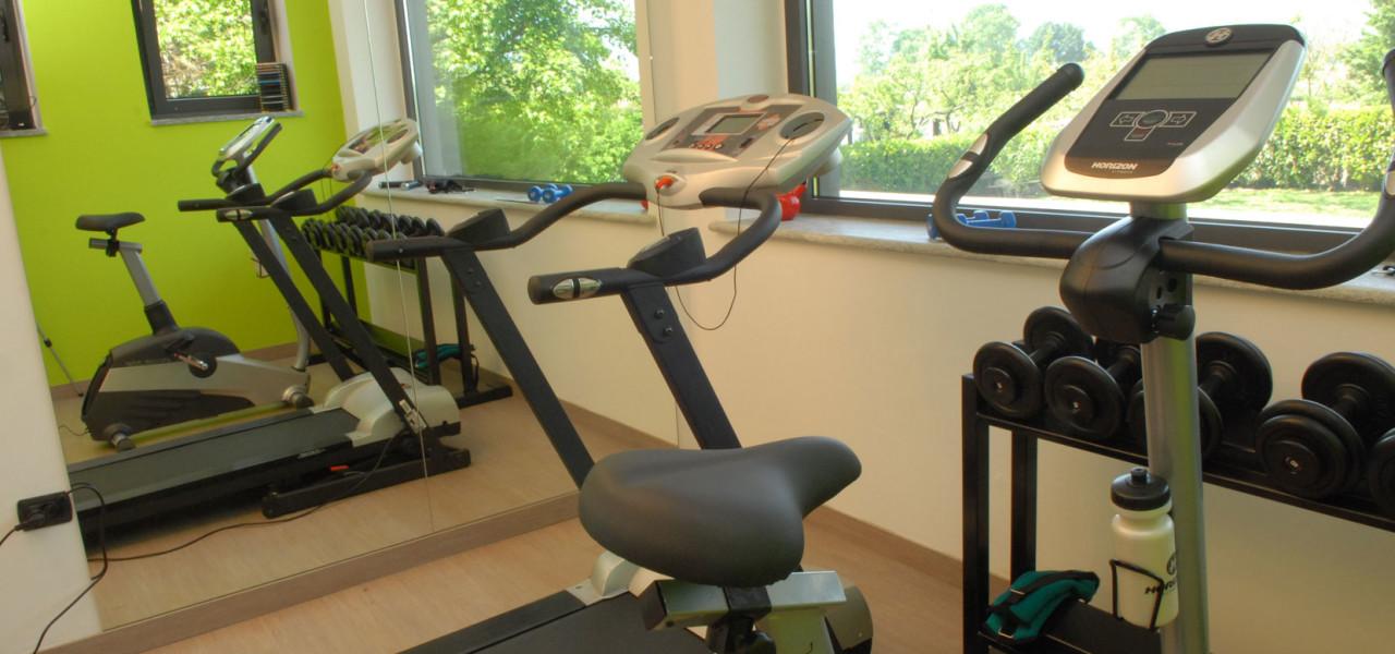 Sala fitness Hotel Gardenia
