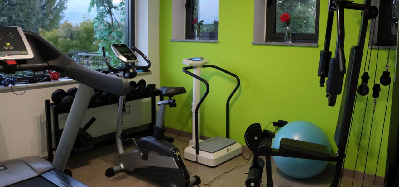 sala fitness hotel Romano Canavese